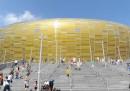 Il nuovo stadio di Danzica