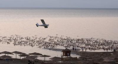 I nudi di Tunick nel Mar Morto