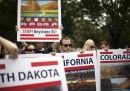 Le proteste alla Casa Bianca contro l'oleodotto Keystone XL