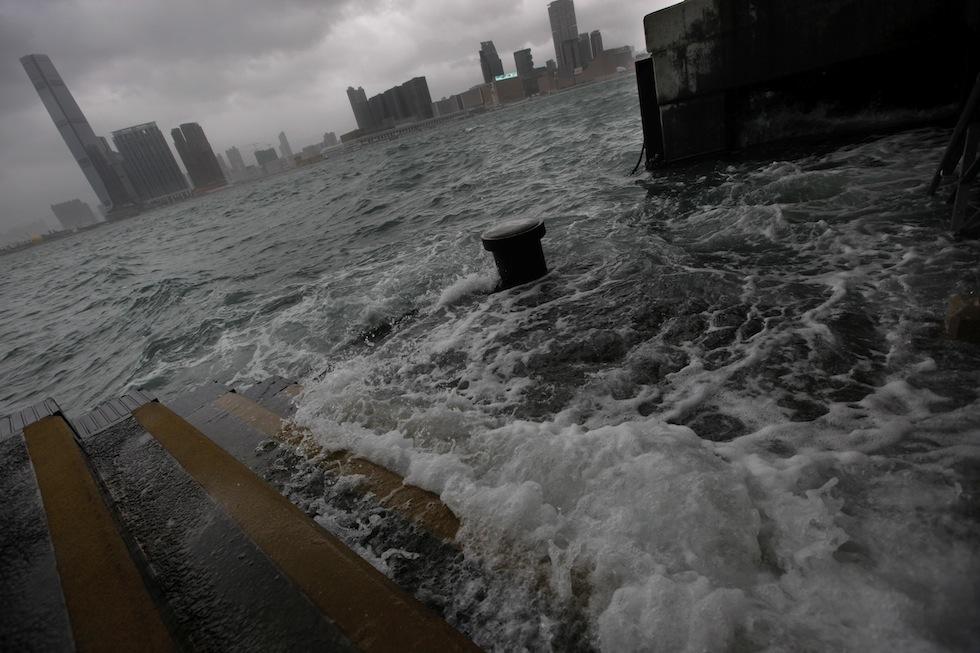 Tifone a Hong Kong