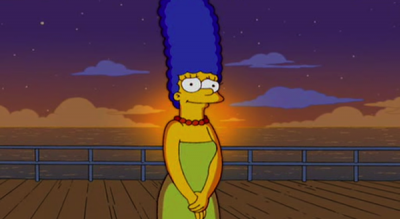 La risposta di Barbara Bush a Marge Simpson