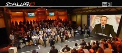 Berlusconi telefona a Ballarò, e tace