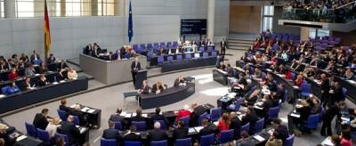 Le foto di un Parlamento normale