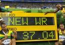 Il record mondiale della Giamaica nella 4x100