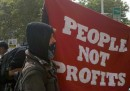 Le proteste a Wall Street