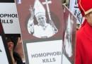 Le manifestazioni contro il Papa in Germania