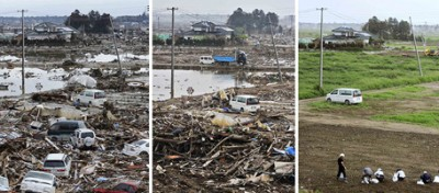 Qui era passato lo tsunami