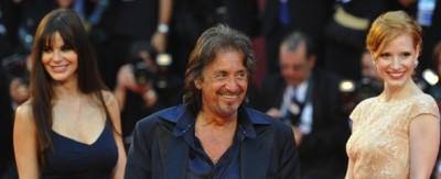 Il giorno di Al Pacino a Venezia