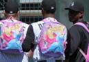 Campioni con lo zainetto rosa