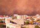La tempesta di sabbia in Texas