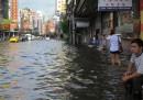 Un altro giorno sott'acqua a Bangkok