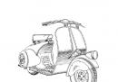 bicicletta a motore