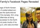 La famiglia di Kim Jong-il sui social network