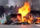 Le foto delle proteste in Grecia
