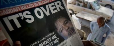 Le prime pagine di tutto il mondo sulla morte di Gheddafi