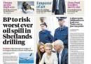 I giornali inglesi di mercoledì 12 ottobre