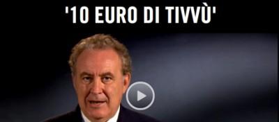 Santoro chiede 10 euro