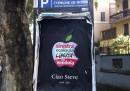 Il manifesto di Sinistra e Libertà in memoria di Steve Jobs