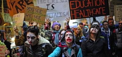Le proteste di Occupy Wall Street si allargano (foto)