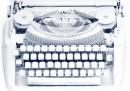 La radiografia della macchina da scrivere
