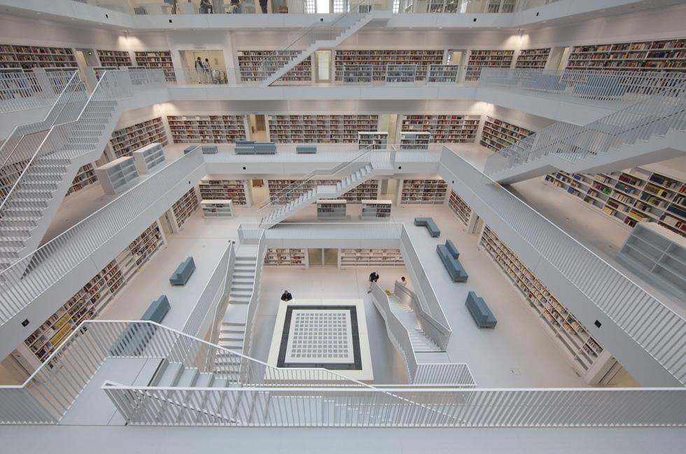 Le biblioteche moderne il post for Architettura disegnata