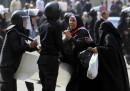 Gli scontri di ieri al Cairo