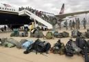 I soldati americani lasciano l'Iraq
