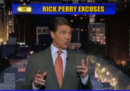 Rick Perry da Letterman