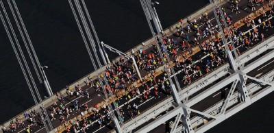 Le foto della Maratona di New York