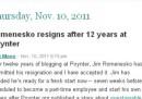 Jim Romenesko si è licenziato da Poynter