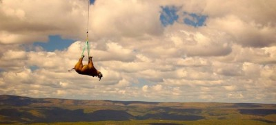 I rinoceronti sospesi in cielo