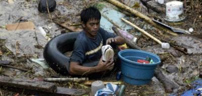 Il tifone Washi nelle Filippine