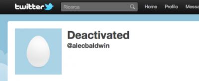 Alec Baldwin ha lasciato Twitter