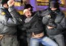 Le contestazioni in Russia