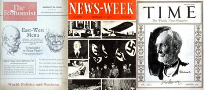 Prime copertine di grandi riviste