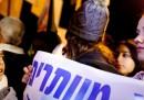 La protesta per le donne in Israele