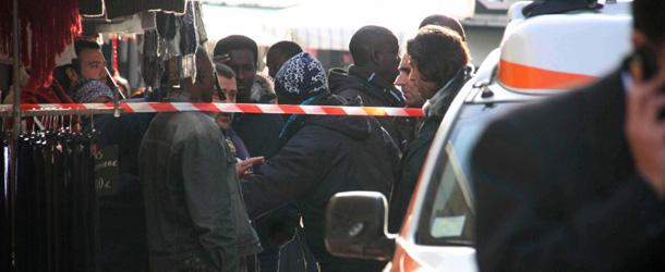 Firenze, sparatoria al mercato di Piazza Dalmazia