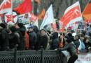 Alla manifestazione di Mosca