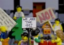 Occupy Wall Street fatto coi Lego