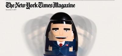 La mia copertina del New York Times Magazine
