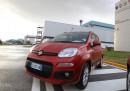 La presentazione della nuova Panda allo stabilimento Fiat di Pomigliano