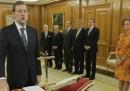 Il nuovo governo spagnolo
