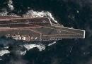 La prima portaerei cinese è stata fotografata