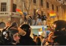Le proteste in Romania