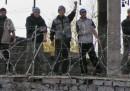 La protesta dei detenuti in Kirghizistan