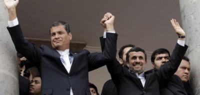 Ahmadinejad in America Latina