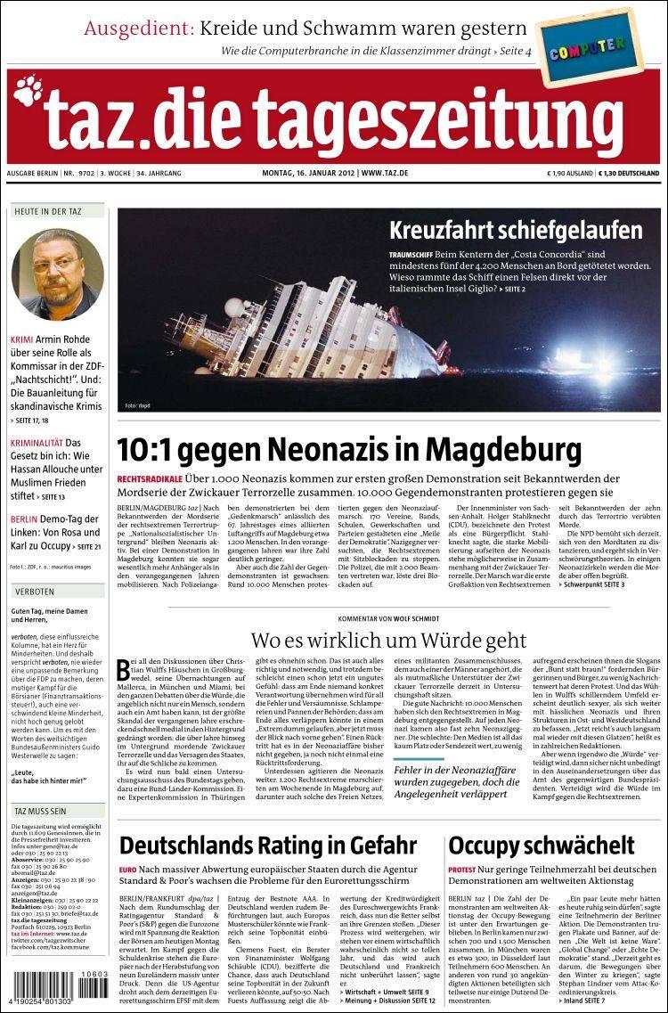 Tageszeitung It