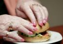 Hamburger in Braille