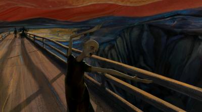 L'urlo di Munch, animato