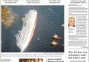 Le prime pagine di tutto il mondo sulla Costa Concordia